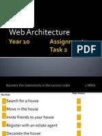 P2 Web Architechure