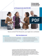 Panasonic KXTDE100 200