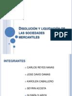 Presentacion Disolucion y Liquidacion de Sociedades