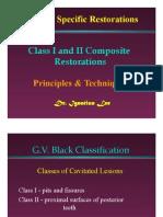 Class I & II comp-2008
