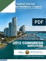 Brochure Congreso mundial de turismo en salud