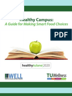 Tulane University Healthy Eating Guide