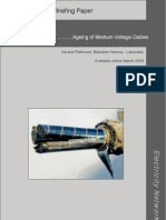 Ageing of Medium Voltage Cables