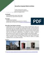 IPPAR - Pórtico Manuelino da Igreja Matriz de Belas