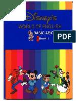 Curso de Ingles Para Ninos - 12 Libros Disney 01