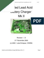 Sealled Lead Acid Charger MkII Manual V1-3