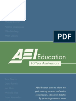 AEI Education 10-Year Review