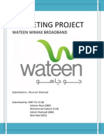 Marketing (Wateen)