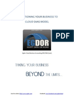 Egdor Transitioning Your Software Business to SaaS