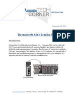 TechCorner 28 - Do-More vs Allen Bradley PLCs