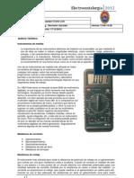 INFORME Nº 001  electro