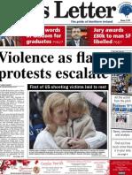 Belfast News Letter front page December 18