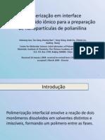 Polimerização Interfacial Aquosa