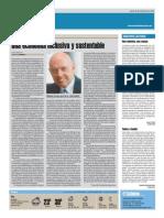 Cristian Bergmann - Economía emprendeora, inclusiva y sustentable - Diario El Ciudadano