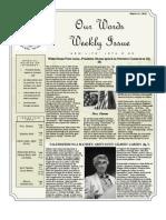 Newsletter volume 4 Issue 49