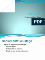 CC5001 Week 12 Implementation 2012