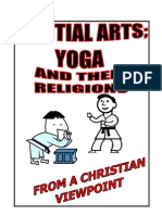 Martial arts yoga and religions