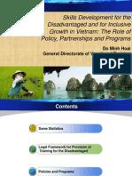 Minh Hoai Do - Skills Development for the Disadvantaged in Vietnam