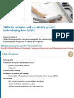 Mukti Mishra - Skills Development Problems Policy Partnerships Programs and Prospects