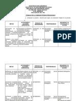 Plan de comisión técnico pedagógico