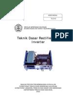 Modul Teknik Dasar Rectifier Dan Inverter
