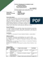Geodesy Handout 2012-2013