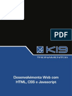 Desenvolvimento Web com HTML, CSS e JavaScript.