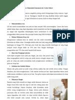 5 Cara Memenuhi Konsumsi Air 2 Liter Sehari