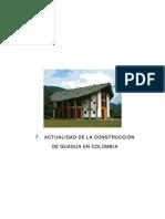 Actualidad de La Construccion de Guadua en Colombia
