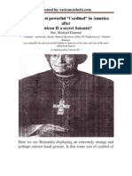 """Was the most powerful """"Cardinal"""" in America after Vatican II a secret Satanist?"""