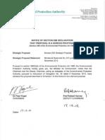 Notice of s39B Declaration-Woodside