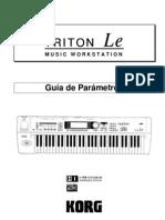 Manual Korg Triton LE en español