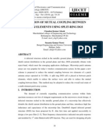 Reduction of Mutual Coupling Between Patch Elements Using Split-ring Dgs