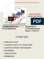 Metal Matrix Nanocomposites