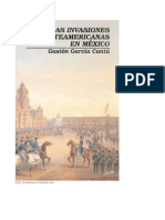 Las invaciones norteamericanas a Mexico