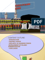Early Practices of Islamic Administration