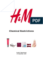 H & M Chemical Restrictions - 2009-12-14