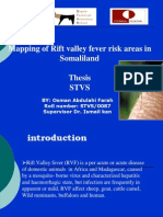 thesis of mappiing of Rift Valley Fever by osman shiine farah 2011