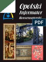 Opolski Informator Konserwatorski 2011