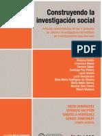 AA VV Construyendo La Investigacion Social Multiculturalismo