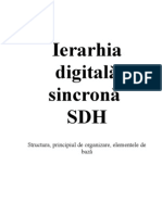 Ierarhia Digitala Sincrona - SDH
