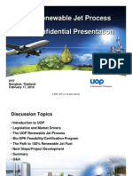 UOP Renewable Jet Process - Non Confidential Presentation, V1
