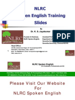 NLRC Spoken English Training Slides in Tamil - New Method for Fluency
