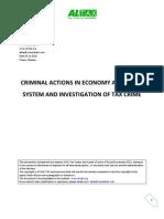 Investigation of Tax Crime in Albania_AL-Tax.org