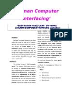 HumanComputerInterfacing.doc