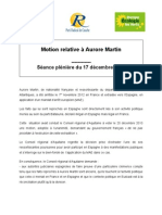 Aquitaine MotionAuroreMartin