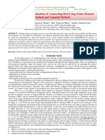 Preform Shape Optimization of Connecting Rod Using Finite Element Method and Taguchi Method