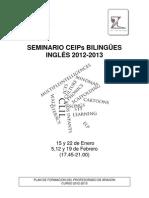 Seminario CEIPS bilingües inglés