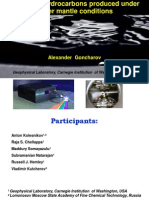Abiogenic Hydrocarbons Produced Under Upper Mantle Conditions Alex Goncharov_Hydrocarbons