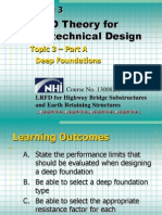Bridge LRFD Theory Deep Foundations